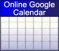 Online Google Calendar